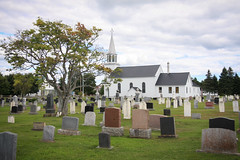 United Church of Canada (Seb & Jen) Tags: canada church quebec eglise cimetiere gaspesie cimetery baiedeschaleurs newrichmond