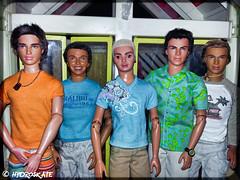 Rip Boyz Team Delgado (rollerskate13) Tags: miguel alan ryan ken barbie liam blaine mattel flavas rebelde