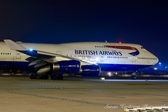 British Airways Boeing 747-400 G-CIVA (Sri_AT72 (Sriram Hariharan Photography)) Tags: new love night del plane photography lights march airport aircraft aviation delhi international 400 gandhi airline passion british session boeing airways airlines 747 spotting indira 747400 airside 2013 igia gciva vidp