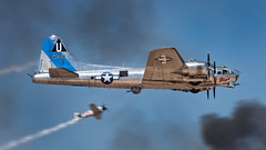 A Sentimental Journey back in time (hotdog.aviation) Tags: flyingfortress sentimentaljourney lukeafb toratoratora luke75