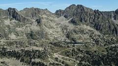 Widok z Pic Portarro w kierunku Amitges
