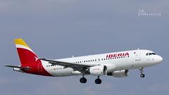 EC-ILS Iberia Airbus A320-214 - cn 1809 (thule100) Tags: hamburg ham flugzeug eddh iberia airbusa320214 frankkrause ecils cn1809