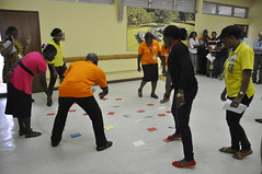 Team building training (IITA Image Library) Tags: workshop breeding nigeria teambuilding cassava ibadan iita manihotesculenta cassavabreedingunit