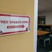 Free Speech Zone brevity encouraged, EFF office, San Francisco, California, USA