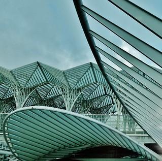 Lisboa Estación de Oriente Santiago Calatrava 151012. Explore 20 de Marzo de 2016. 094842