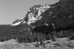 Flimserstein / Crap da Flem (EXPLORED 2016/04/15) (winkler.roger) Tags: mountain landscape switzerland rocks huts flims grison flem surselva huntinghut flimserstein crapdaflem