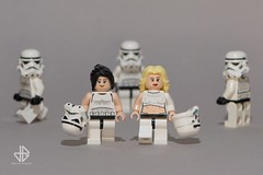 Hot Troopers (Greg 50) Tags: hot sexy starwars lego stormtroopers deathstar laguerredestoiles