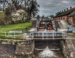 Staircase Locks, Bunbury, Cheshire. (Keo6) Tags: