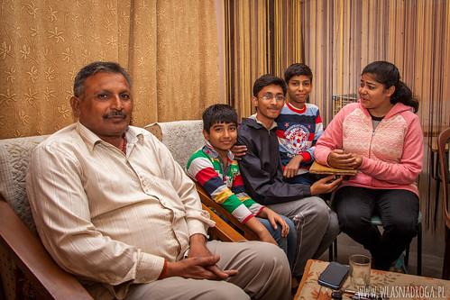 Gospodarz, który przygarnął nas do siebie w Kanpur