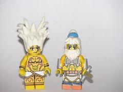 Lego Soul Calibur 5: Algol and Edge Master (AJV777) Tags: game castle fighter master edge videogame minifig minifigs custom customs soulcalibur minifigure agol brickforge soulcaliburv soulcalibr5