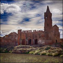(2247) Belchite Viejo (QuimG) Tags: landscape paisaje olympus zaragoza paisatge specialtouch quimg belchiteviejo quimgranell joaquimgranell afcastell obresdart xtrmhdr