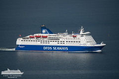 Crown Seaways (Aviation & Maritime) Tags: norway oslofjorden dfds carferry nesodden passengership passengerferry dfdsseaways cruiseferry crownseaways