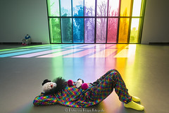 Ugo Rondinone Vocabulary of Solitude 2. (PvRFotografie) Tags: holland museum clown nederland clowns nex boijmansvanbeuningen ugorondinone sonynex nex6 vocabularyofsolitude