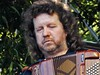 Spiro's Piano Accordionist (mikecogh) Tags: english sad hackney spiro mournful womadelaide downcast pianoaccordion botanicpark womad2016