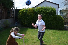 Eye on the ball! (pwllgwyngyll) Tags: old boy eye liverpool ball football goal year your ten supporter strike welsh practice footy keeping striker jac anfield lfc liverpoolfc at