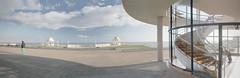 Bexhill 17 Apr 16. The De La Warr Pavilion, EXPLORED panorama ... (call me Michael) Tags: seaside sussexbexhilldelawarrpavilion promenadeartdecodesign
