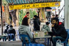 A mid-day beer at a bia hơi in Hanoi (Premshree Pillai) Tags: me vietnam hanoi premshree biahơi hanoijan16
