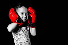 Russian fighter (desdemonchik) Tags: boy red 50mm nikon fighter child boxing russian lowkey chita battler d7000