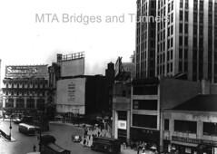 Columbus Circle, 1953 (mtabt_specialarchive) Tags: blackandwhite newyork manhattan columbuscircle