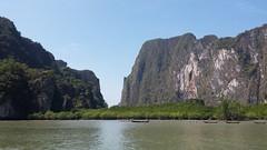 Phag - Nga National  Marine  Park Thailand (suebmtl) Tags: park tourism thailand marine limestone karst phangnga phangnganationalmarinepark