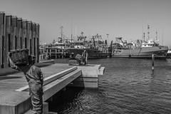 DSC_0021 (Stuart Lilley Photography) Tags: blackandwhite bw boats boat blackwhite harbour au australia quay quays fremantle westernaustralia harbours