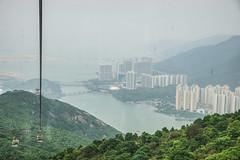 A gondol ride to/from Big Buddha (TimoOK) Tags: china sea building water hongkong gondola meri vesi newterritories lantau rakennus kiina gondoli islandsdistrict