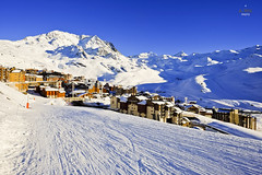 Sunset in Val Thorens (A. Wee) Tags: france alps village skiresort valthorens  troisvalles  les3valles