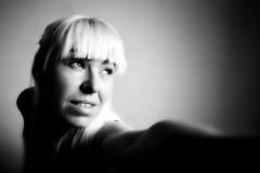 Freestyle (djnightsphotography) Tags: portrait blackandwhite bw selfportrait me monochrome face eyes women noiretblanc figure blonde djnightsphotography suzannebainton wwwdjnightsphotographycom