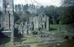 Fountains Abbey (pho-Tony) Tags: world film japan shop photography japanese iso200 day boots 1996 pinhole iso plastic 200 kit gadget expired wppd c41 tetenal worldpinholephotographyday gakkenpinhole