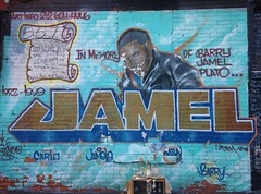RIP Jamel (11238-bkn) Tags: lexingtonave bedfordstuyvesant urbangravestone