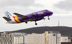 G-LGNJ SAAB 340, Aberdeen (wwshack) Tags: airplane scotland aircraft aeroplane aberdeen saab340 loganair dyce flybe aberdeenairport glgnj egpd azbz