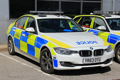 South Yorkshire Police BMW 330d Saloon Roads Policing Unit Traffic Car (PFB-999) Tags: car traffic south yorkshire police bmw vehicle leds roads saloon grilles unit 3series rpu lightbar policing syp 330d fendoffs yr63otu