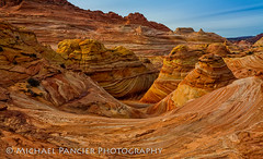 The Wave (Michael Pancier Photography) Tags: arizona usa nature landscape utah us sandstone geology thewave blm marblecanyon americansouthwest pariacanyon vermillioncliffs commercialphotography naturephotographer coconinocounty michaelpancier michaelpancierphotography coyotebuttesnorth vermilioncliffsnationalmonument landscapephotographer arizonawilderness fineartphotographer michaelapancier wwwmichaelpancierphotographycom michaelpancierphotographycom