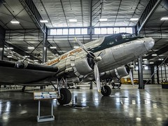 A vintage Douglas DC-3/C-47 on display at the Erickson Air Museum in Madras, Oregon (mharrsch) Tags: oregon airplane aircraft aviation madras flight airshow airmuseum mharrsch airshowofthecascades ericksonairmuseum