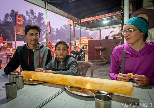 Dosa, tradycyjna potrawa hinduska