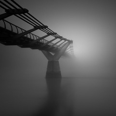 Fade to Grey (vulture labs) Tags: longexposure london fog vulturelabs