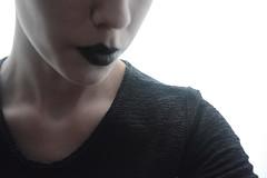 78/365 No identity (Lau Armoa) Tags: black girl mouth project nikon negro identity 365 1855mm boca proyecto identidad d5200