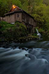 Evening at the Mill (Gabriela Fulcher Photography) Tags: sunset mill evening washington stream outdoor peaceful flowing atmospheric grist