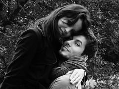 Version 3 (danielrieu) Tags: blackandwhite bw couple noiretblanc nb amoureux