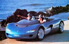 1990 Renault Laguna Concept Car (aldenjewell) Tags: car magazine photo renault concept laguna 1990