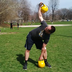 Kettlebell Windmill Exercise (personaltrainertoronto) Tags: kettlebell weighttraining windmills exercise personal training personaltrainer fitness strength muscle fit athlete
