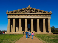 Nashville's Parthenon, Centennial Park (Joey Hinton) Tags: park centennial nashville tennessee olympus parthenon f28 omd em1 m43 mft 1240mm microfourthirds