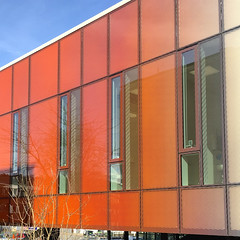 Beautiful Health Centre III (hansn (2 Million Views)) Tags: windows color colour reflection building glass colors architecture modern reflections gteborg square sweden contemporary gothenburg architect sverige frg reflektion arkitektur goteborg coulors bergsjn healthcentre glassfacade squarish arkitekt vrdcentral reflektioner arkitektkontor wingrdhs wingardhs wingardh wingrdh glasfasad bergsjns bildstrom ntkrnan