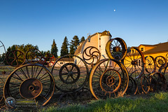 Sunrise at the Wheel Barn (Theaterwiz) Tags: green washington agriculture palouse nxnw thepalouse theaterwiz michaelcriswellphotography