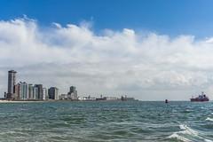 Vlissingen Skyline (pel16931) Tags: holland netherlands boulevard nederland delta zeeland northsea vlissingen walcheren deruyter westerschelde nollenhoofd