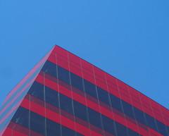 Triangle (Grazerin/Dorli B.) Tags: red architecture triangle exterior angle elements pacificdesigncenter