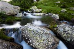 Cortals (Zac) Tags: seascape green water rio river landscape stones silk paisaje harmony serenity seda andorra arroyo piedras pedres cortals