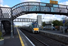 Tullamore County Offaly Ireland 27th April 2016 (loose_grip_99) Tags: county bridge ireland irish station diesel footbridge rail railway trains transportation april multiple railways unit offaly 2016 tullamore 22253