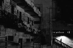 la nit canria (txutis de can burrass) Tags: city bw night noche nikon streetphotography ciudad santacruzdetenerife tamron carrer nit ciutat islascanarias blancinegre fotografiacallejera