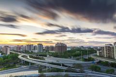 DSC_0314 () Tags: china bridge sunset urban cloud skyline night dark lights evening twilight lowlight cityscape sundown dusk beijing bluesky gloom  bluehour  nightfall gloaming eventide semidarkness closeofday longexposurelight  citytwilight nikkorafsdx1685mmf3556gedvr nikond7100